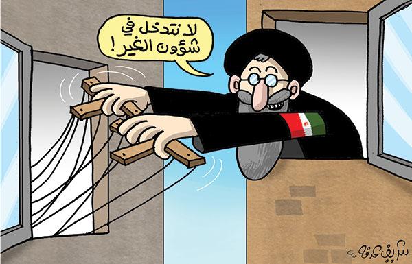 تدخل ايران في دول المنطقة