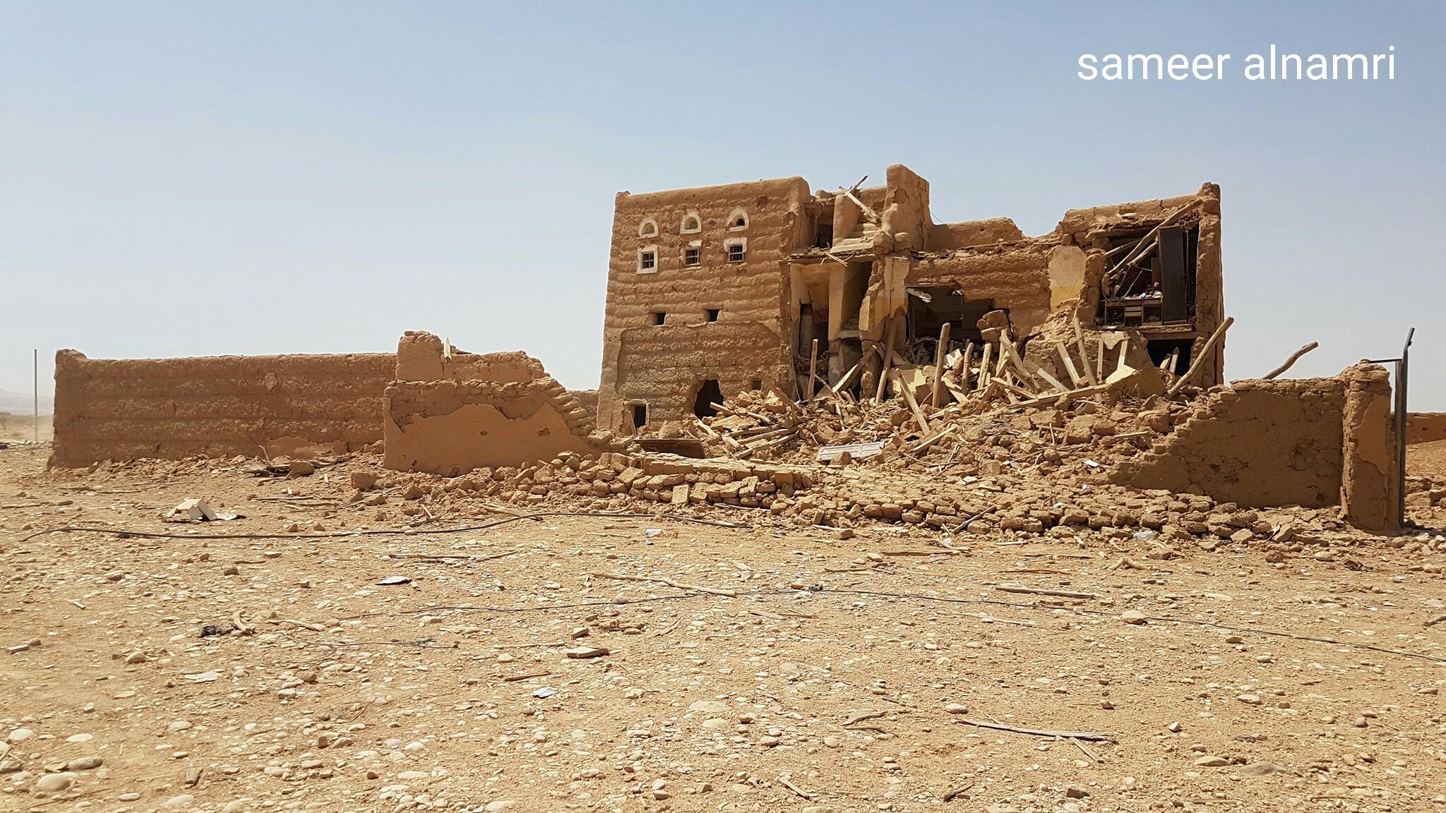 شاهد صورا لمنطقة الغيل بالجوف بعد تحريرها من المليشيا الانقلابية