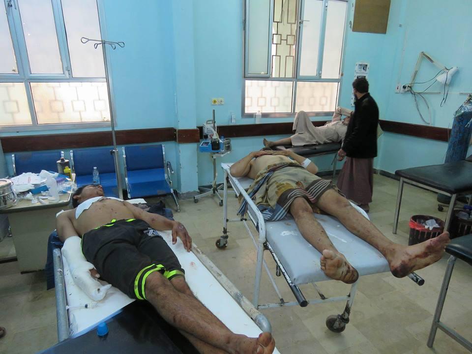 شاهد .. صور تظهر آثار الدمار في مسجد كوفل بصرواح والمباني المجاورة نتيجة استهدافه من قبل الحوثيين