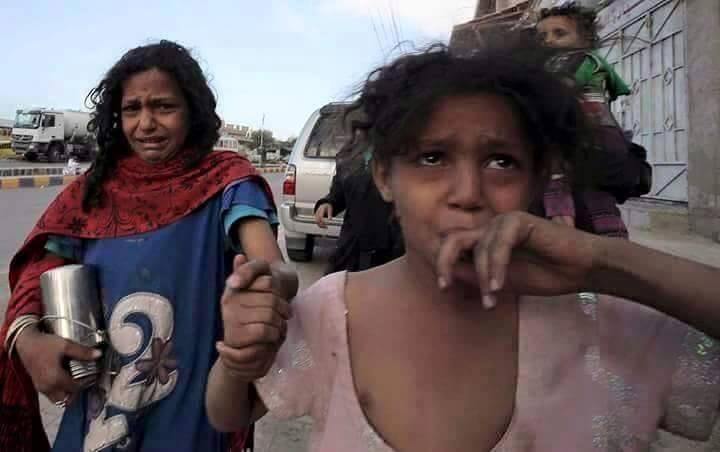 أطفال شردتهم الحرب في مدينة عدن