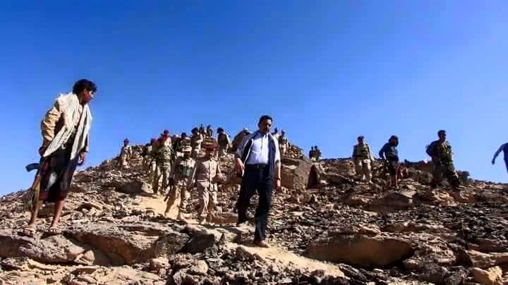 محافظ شبوة يقود جبهات القتال ضد الحوثيين
