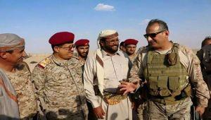 شاهد: قائد القوات  البرية السعودية  في مأرب