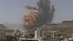 غارات على قاعدة الديلمي وجبل الصمع ومناطق ببني الحارث بصنعاء