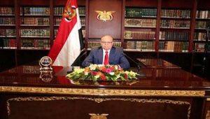 هادي:سنرفع علم اليمن على جبال مران وسنحان وعيبان