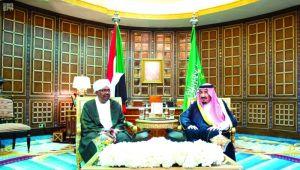 قمة سعودية سودانية حول تطورات الاوضاع في اليمن