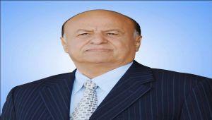 هادي: أبطال الشرعية والجمهورية والدولة الاتحادية يدقون أبواب محافظة الحديدة