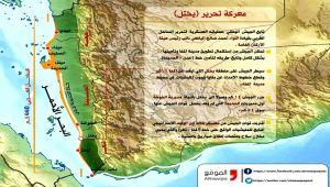"""تعرف على معركة تحرير """"يختل"""" في الساحل الغربي لليمن بين الأهمية والإنجاز (إنفوجرافيك)"""