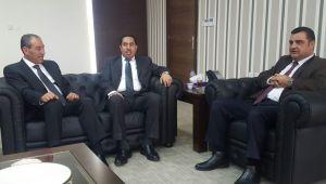 البكري يبحث مع نظيره الأردني التعاون بين البلدين في المجال الرياضي