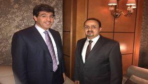 وزير الإعلام اليمني يبحث مع نظيره السعودي التنسيق المشترك حول القضايا الراهنة