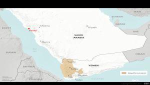 منصة استخبارات دولية تشكك بمزاعم الحوثيين استهداف ينبع السعودية (ترجمة خاصة)