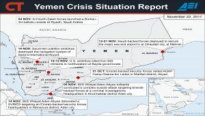 معهد المشاريع الأمريكية: غابت فرص الحل السلمي في اليمن لصالح الحرب