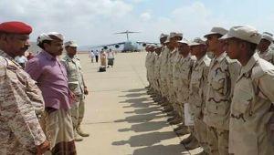 الإمارات تبدأ بتدريب أفراد الحزام الأمني في سقطرى بأبوظبي