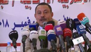 جدل بعد تعرض وزير منشق عن الحوثيين للقذف بحذاء في الرياض