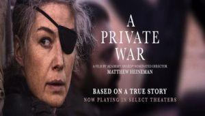 حرب ماري كولفين الشخصية... فيلم إنساني عن حروب دموية