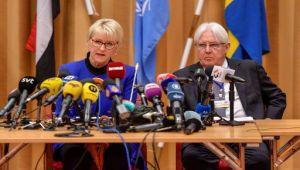 وزيرة الخارجية السويدية: سنطلع مجلس الأمن غدا الجمعة على نتائج المباحثات اليمنية
