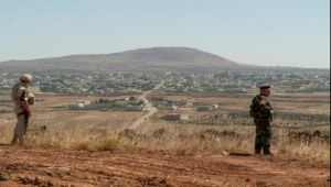 """الجيش الاسرائيلي يطلق النار على """"مسلحين"""" في الجولان"""