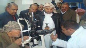 """تنظيم مخيم طبي مجاني للعيون بـ""""صنعاء"""""""