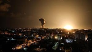 """غارة إسرائيلية على موقع لـ""""حماس"""" شمالي قطاع غزة"""