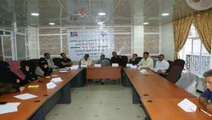 اختتام دورة عن السلامة المهنية للصحفيين في تعز