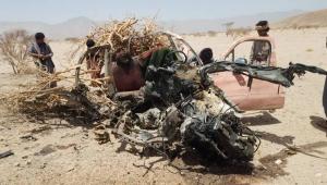 مقتل وإصابة خمسة من أسرة نازحة بانفجار لغم في الجوف (صورة)