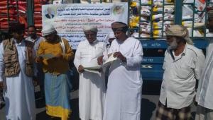 وصول مساعدات غذائية عُمانية لمحافظة المهرة