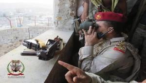 قائد محور تعز: المعركة تهدف إلى كسر الحصار والجيش يتقدم بخطى ثابتة