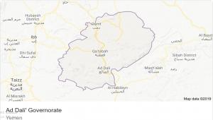 """""""الموقع بوست"""" ينشر خارطة المواجهات في الضالع والقوات المشاركة"""