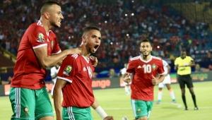 اسود الأطلس يتأهلون للدور ثمن النهائي بفوزهم على ساحل العاج بهدف دون رد