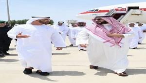قبيل لقاء للأطراف اليمنية .. بن زايد يصل جدة بعد يومين من وصول هادي