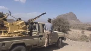 مقتل شخصين بقصف حوثي غربي الضالع