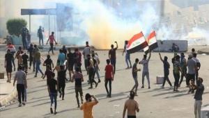 مساء حافل في جنوب العراق وبغداد... تظاهرات وحرق لوثيقة الاتفاق السياسي