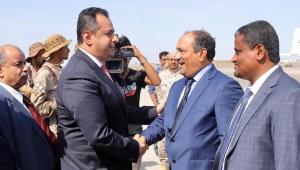 """عودة """"غير حميدة"""" لرئيس الوزراء إلى عدن"""