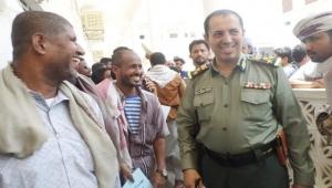 مدير مصلحة الهجرة الجديد بوادي حضرموت يتسلم عمله رسميا