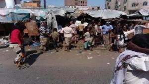 مقتل أربعة أشخاص في اشتباكات في سوق للقات شمال تعز