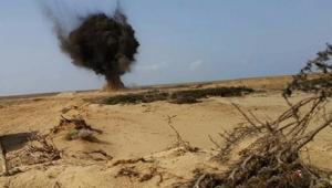 مقتل سيدة يمنية وإصابة إثنتان أخرات في إنفجار لغم حوثي في الضالع