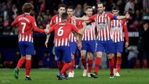 أتلتيكو مدريد وسوسييداد يستفيدان من سقوط خيتافي ويتقدمان في الليغا
