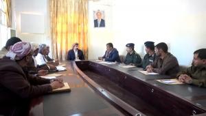 محافظ صنعاء يؤكد المضي في تحرير كافة مديريات المحافظة من الحوثيين