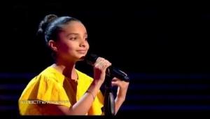 """خديجة عمران تتأهل إلى المرحلة الثانية من مسابقة """"ذا فويس كيدز"""""""