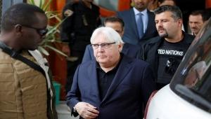 غريفيث يغادر صنعاء بعد بحثه خفض التصعيد مع زعيم الحوثيين