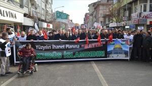 """تركيا.. الآلاف يتظاهرون ضد """"صفقة القرن"""" المزعومة"""