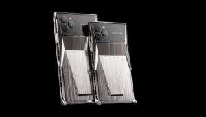صنعت 99 جهازا فقط.. شركة تطرح هاتف آيفون 11 مستوحى من شاحنة سايبرترك
