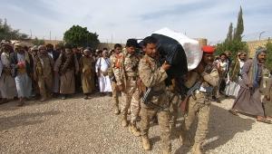 تشييع جثمان أركان حرب محور الجوف