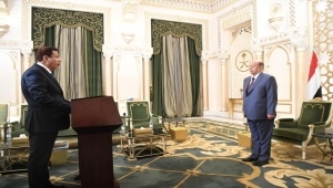 محمد ياسر يؤدي اليمين الدستورية محافظا للمهرة