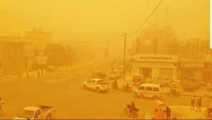 """""""الأرصاد"""" يحذر من موجة غبار شديدة تضرب عددا من المحافظات"""