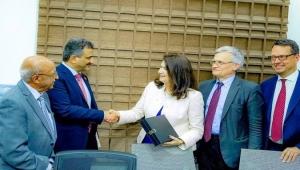 وزيرة خارجية السويد تلتقي قيادة الانتقالي في عدن