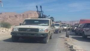 الانتقالي يحتجز تعزيزات سعودية كانت في طريقها لدعم الجيش في البيضاء