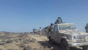 الجيش الوطني يحرر مناطق في جبهة الملاجم بالبيضاء