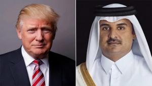 أمير قطر وترامب يبحثان تعزيز العلاقات وسبل التصدي لفيروس كورونا