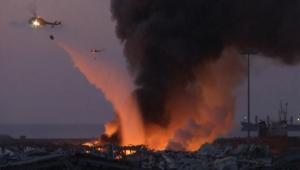 بيان من شركة موزمبيق على صلة بالحادث.. واشنطن تتحدث عن 3 احتمالات وراء انفجار بيروت