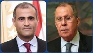 لافروف يشدد على وقف التصعيد في اليمن